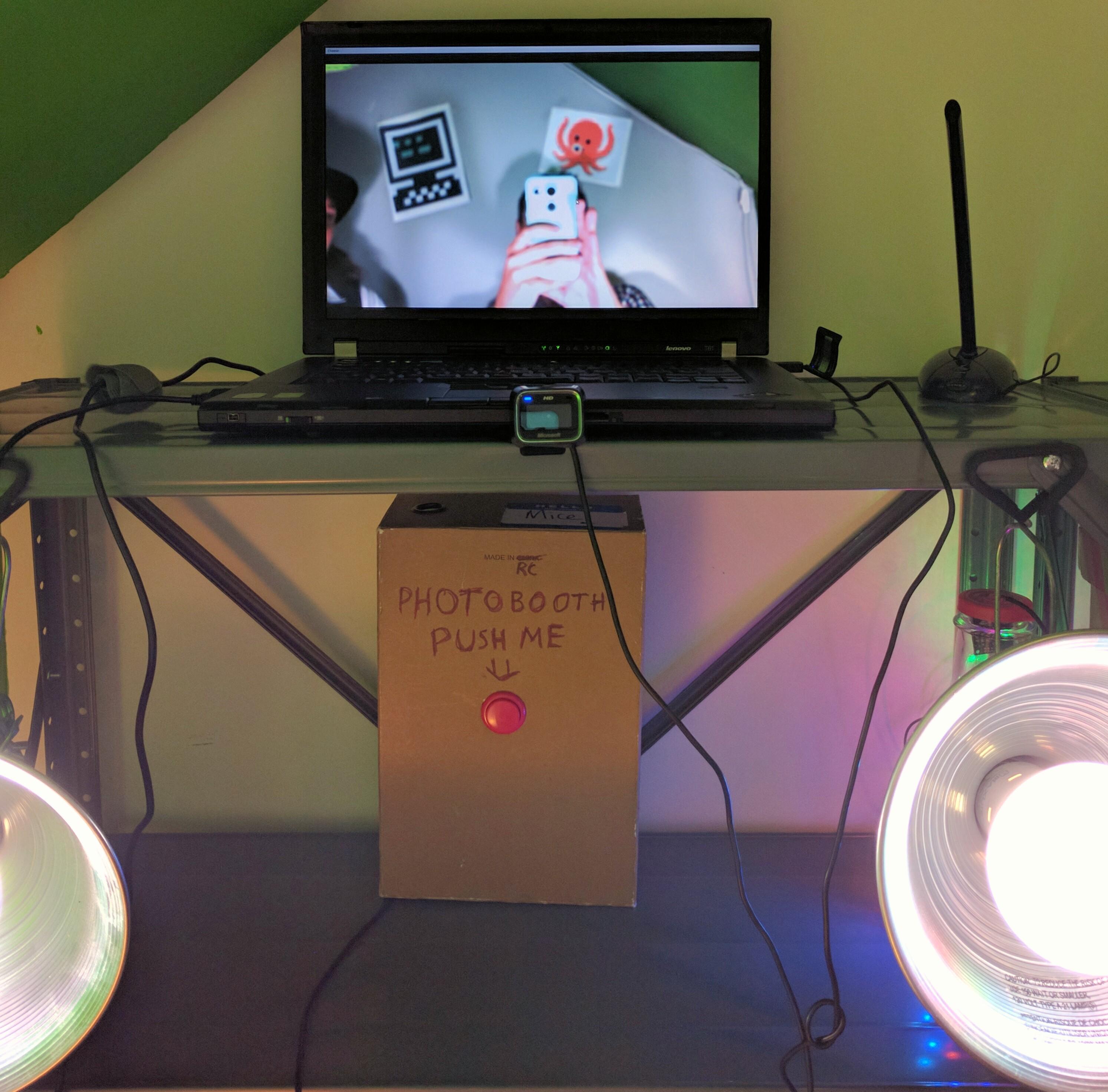 Photobooth setup